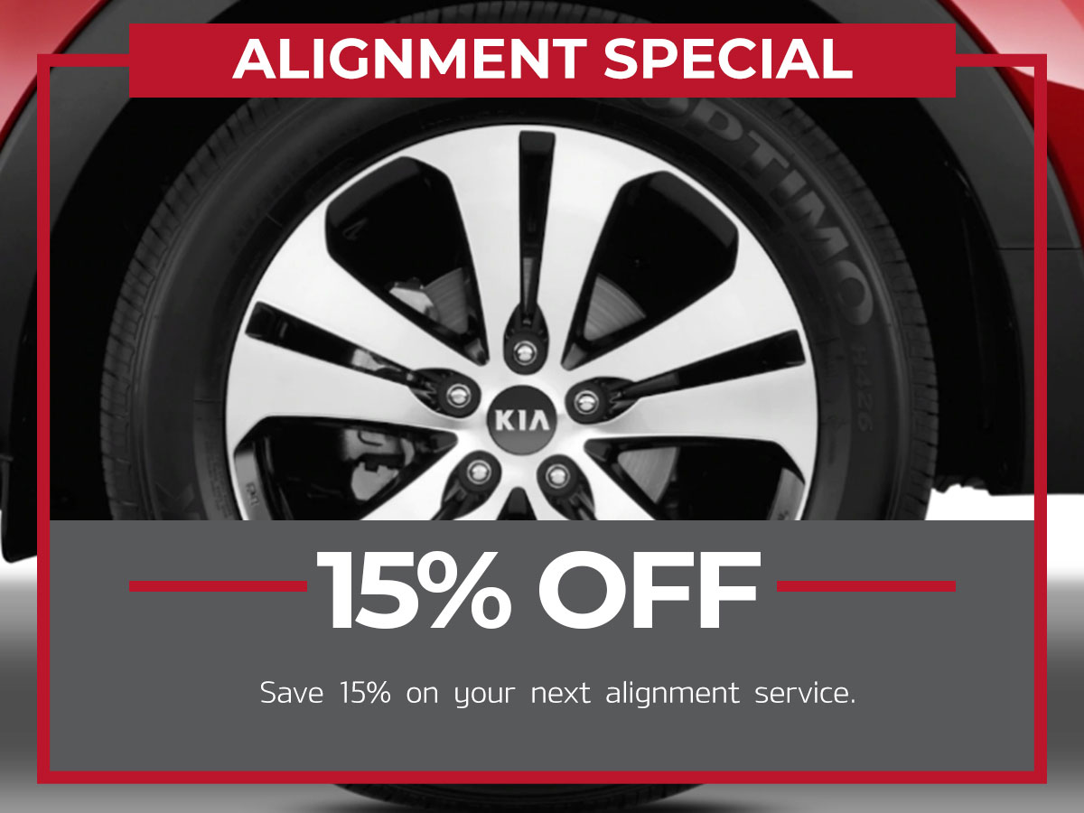 Raceway Kia Alignment Special Service Freehold, NJ
