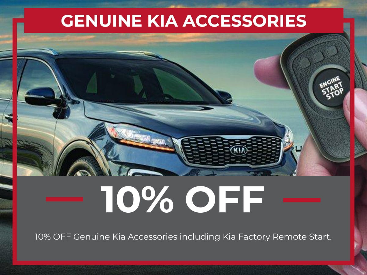 Kia Genuine Accessories Special Coupon