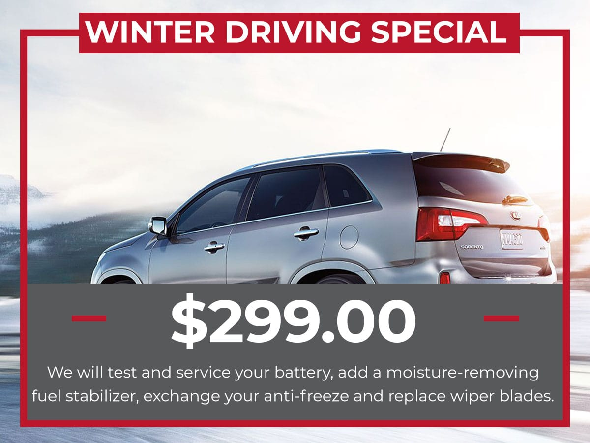 Raceway Kia Winter Driving Special Service Freehold, NJ