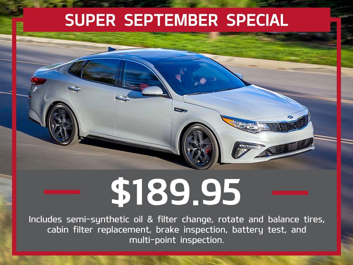 Super September Service Special Coupon
