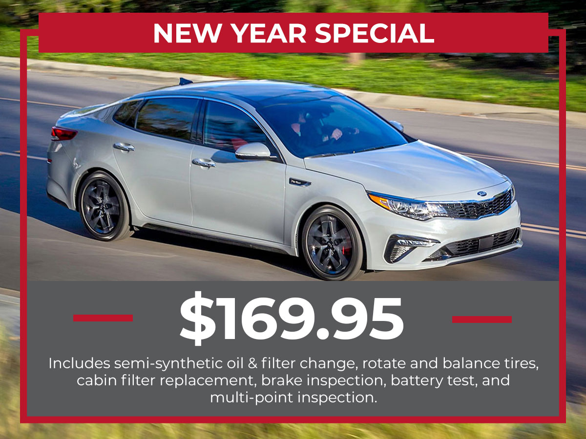 Kia New Year Service Special Coupon