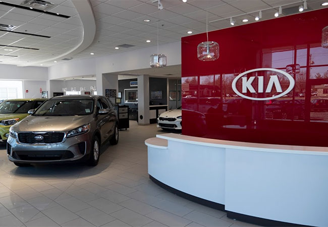 Ray Skillman Kia Waiting Area