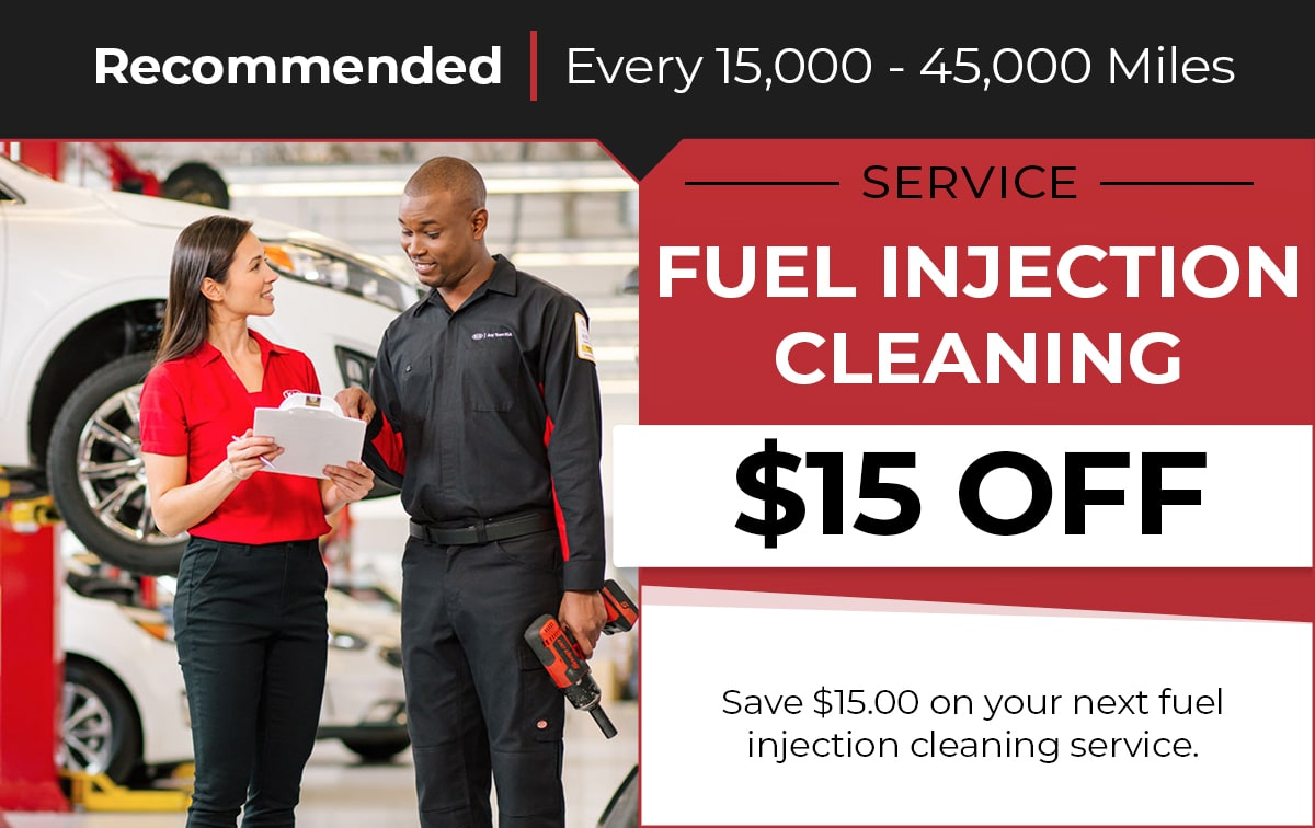 Fuel Injection Cleaning Service Special Coupon