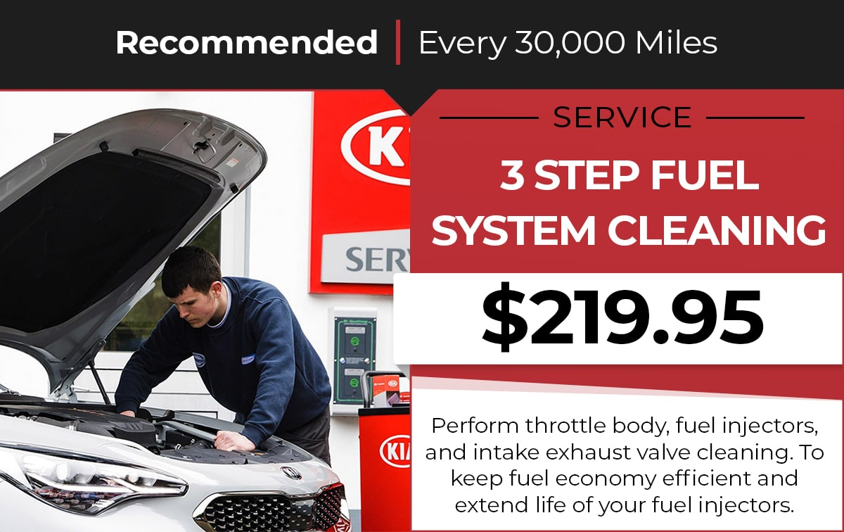 Kia Fuel System Cleaning Service Special Coupon