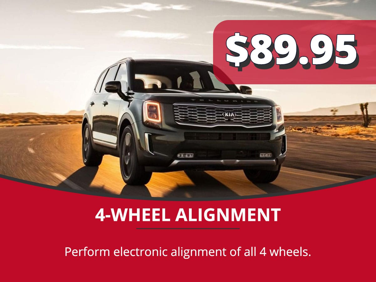 4-Wheel Alignment Service Special Coupon