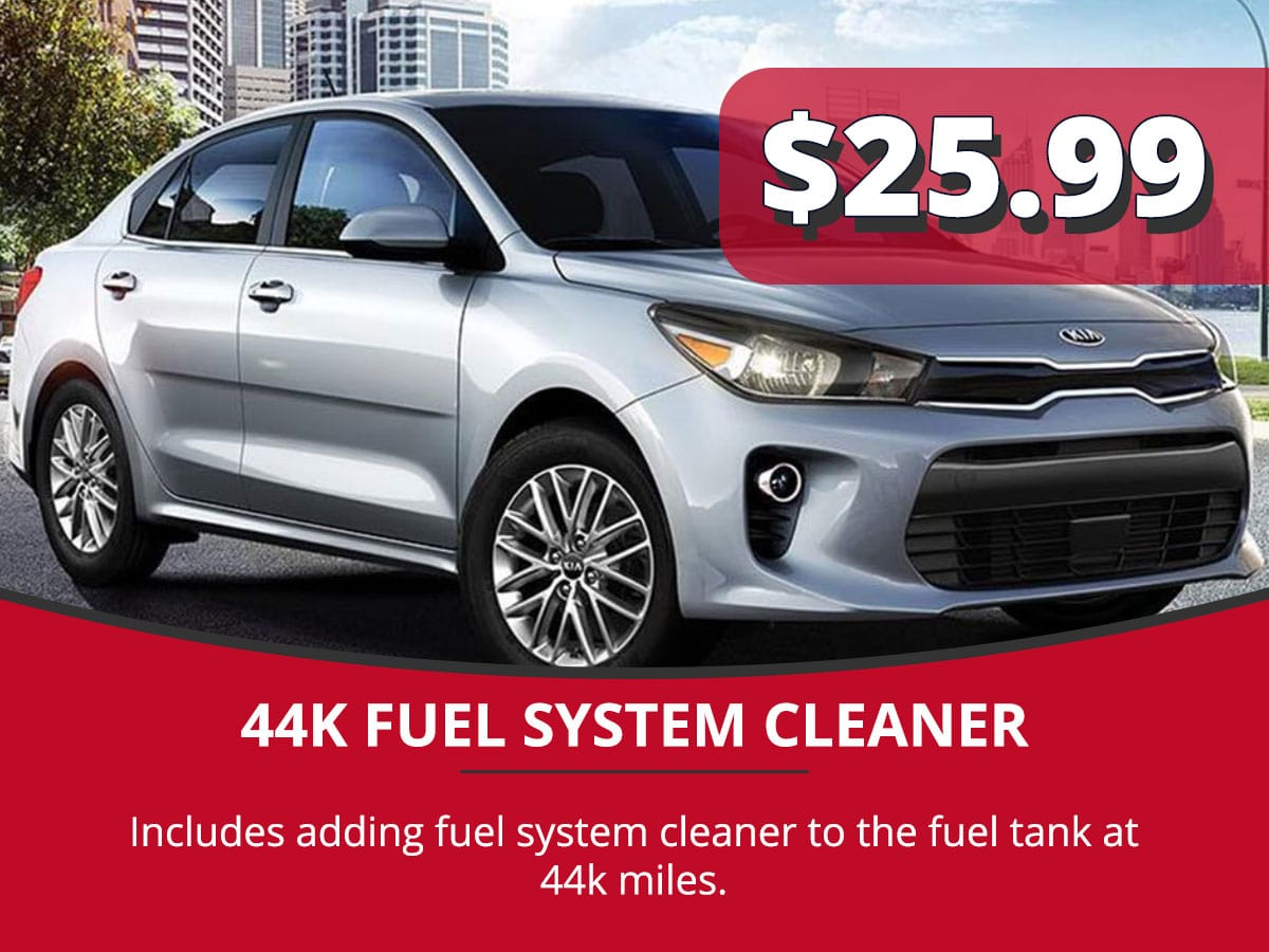 44K Fuel System Cleaner Service Special Coupon