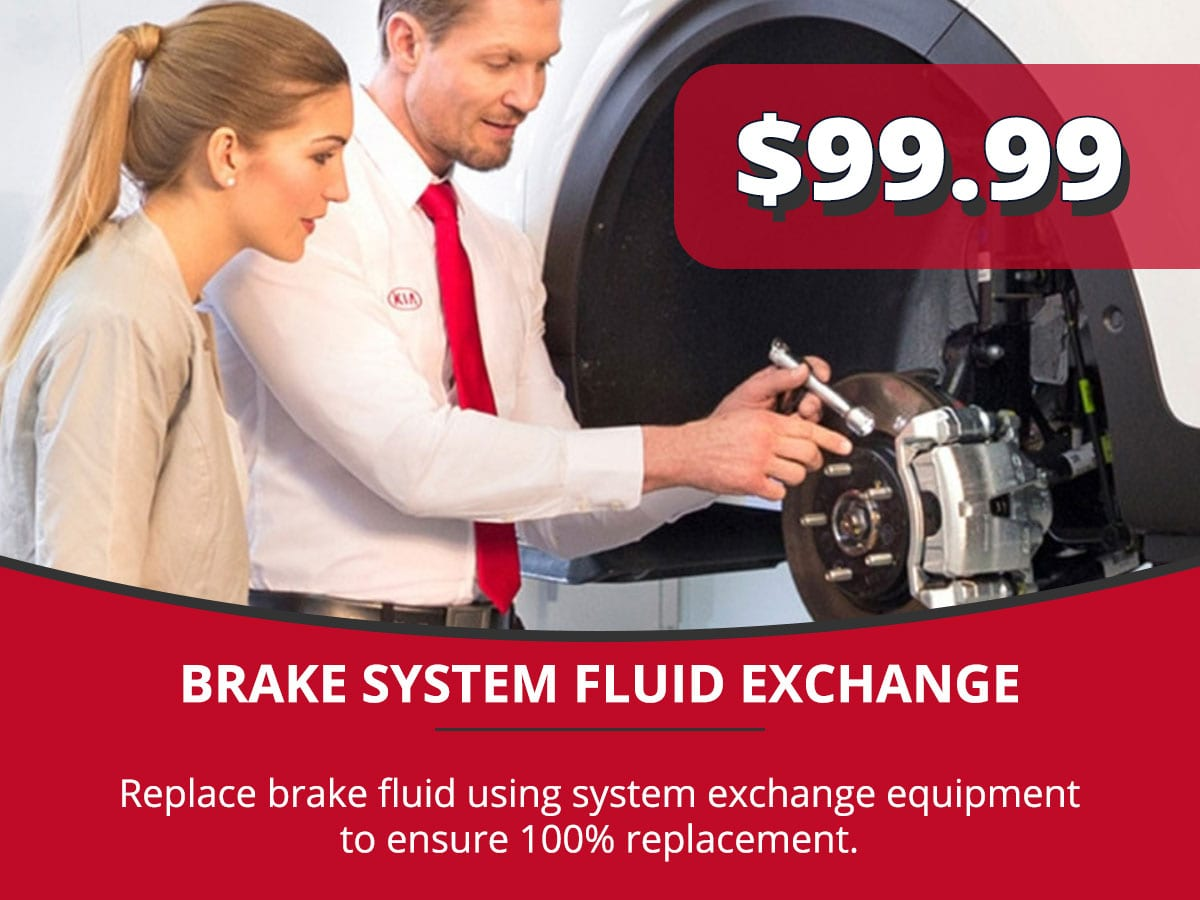 Brake System Fluid Exchange Service Special Coupon