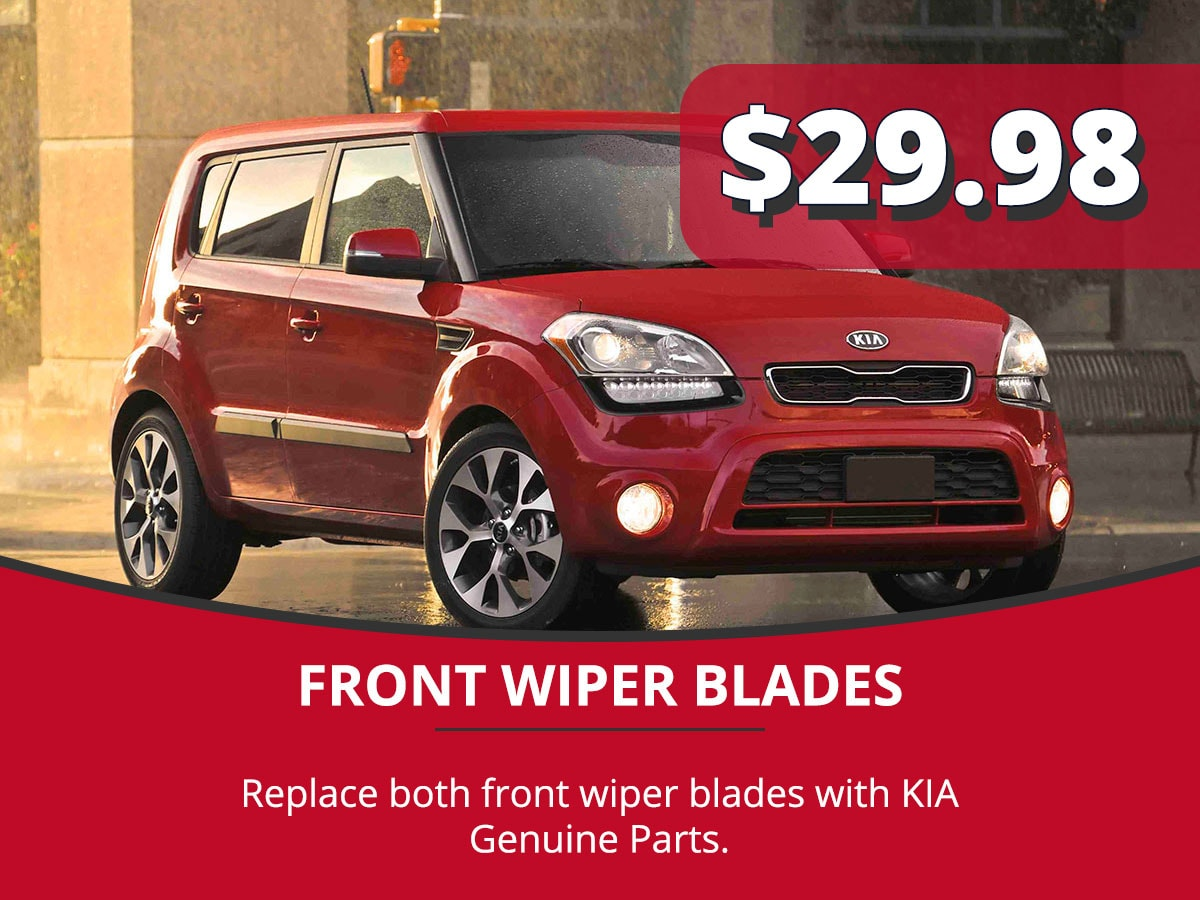 Front Wiper Blades Service Special Coupon