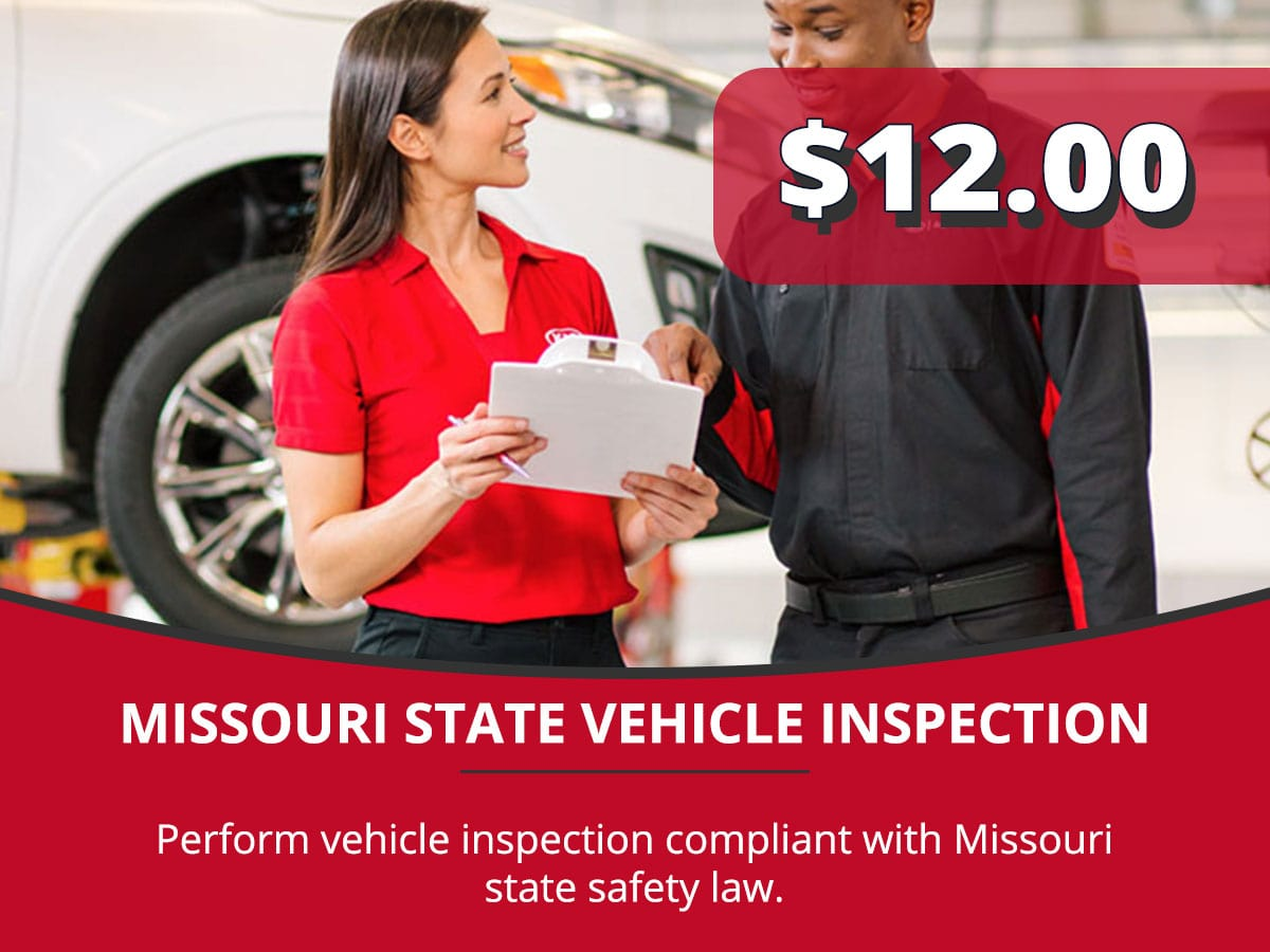 Missouri State Vehicle Inspection Service Special Coupon