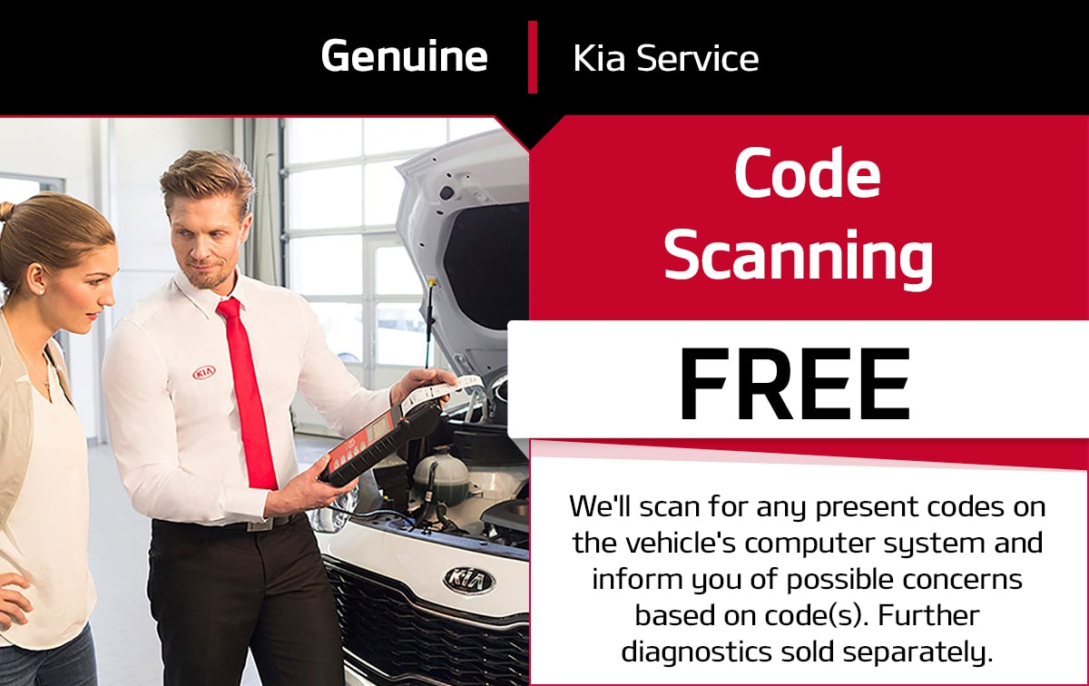 Kia Code Scanning Service Special Coupon