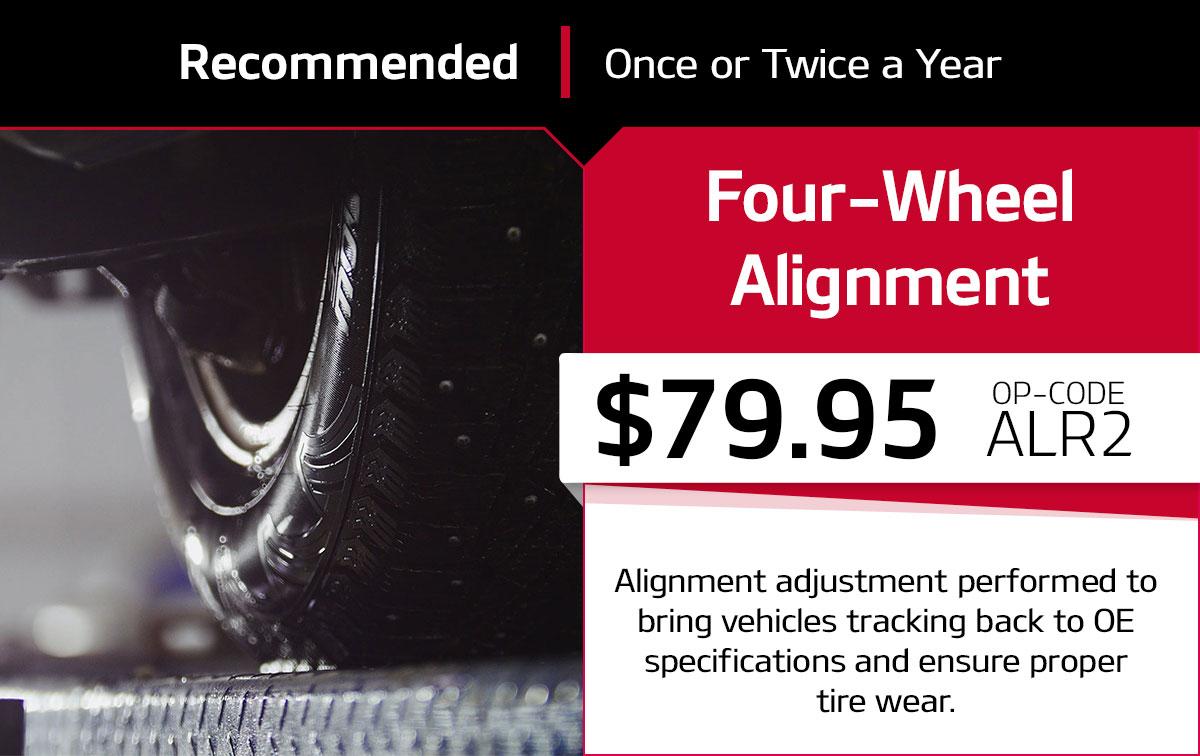 Kia Four-Wheel Alignment Service Special Coupon