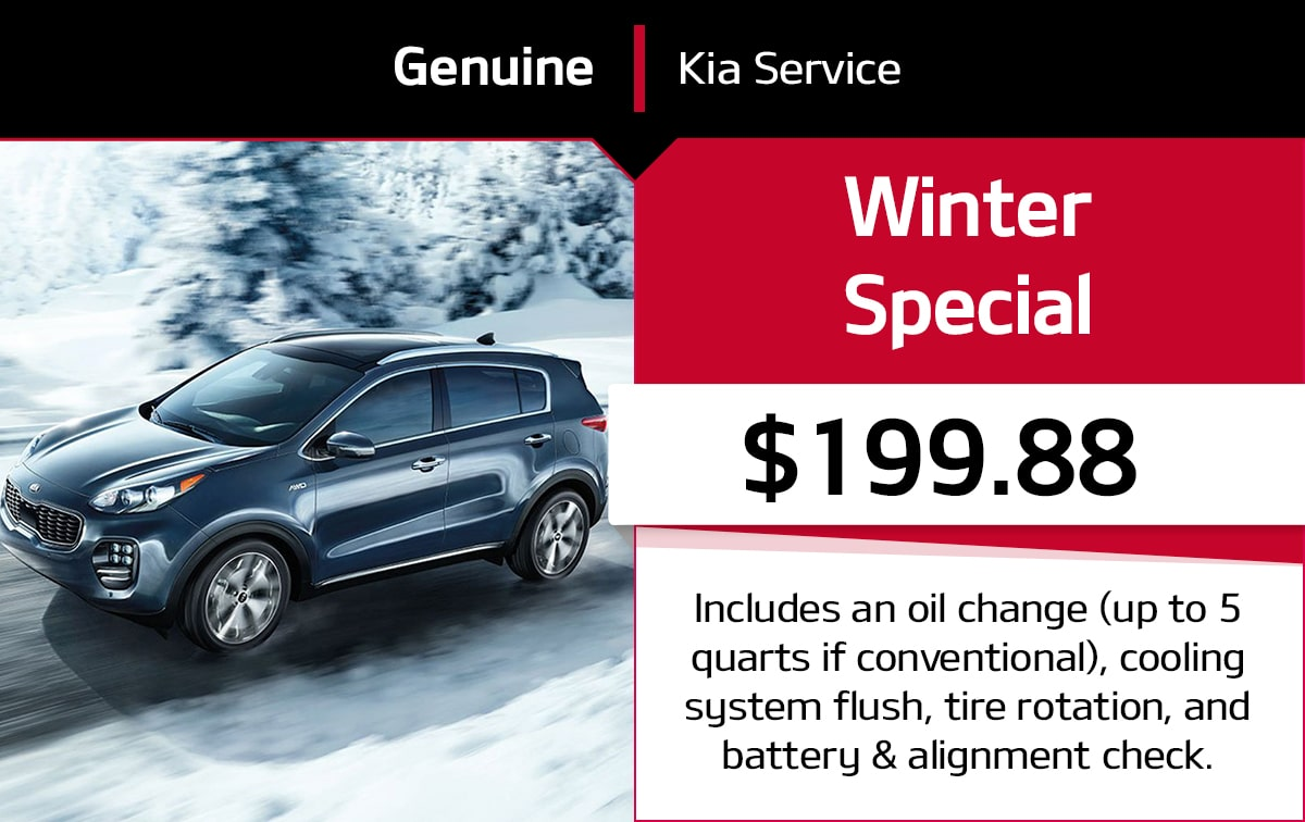 Kia Winter Service Special Coupon