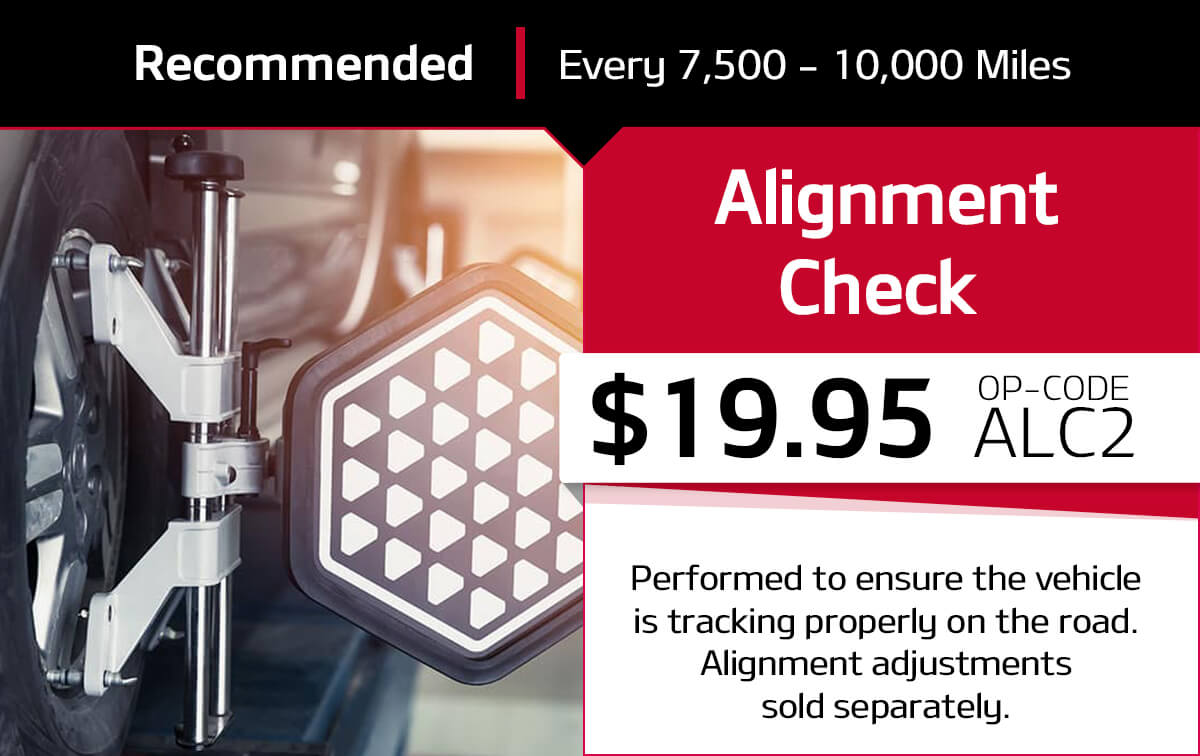 Kia Alignment Check Service Special Coupon