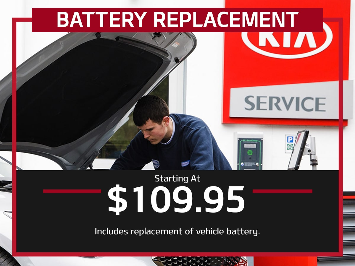 Suntrup Kia Battery Replacement Service Special Coupon St. Louis, MO