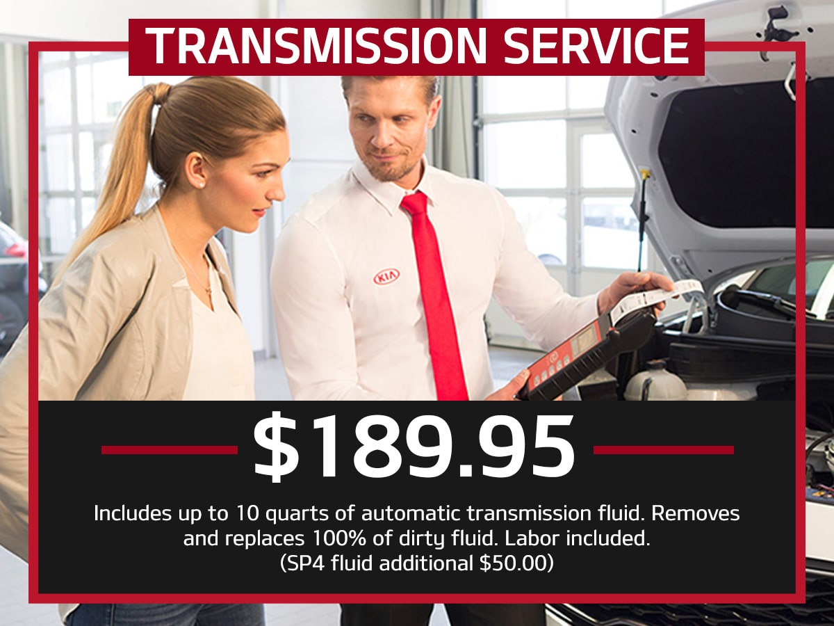 Suntrup Kia Transmission Service Special Coupon St. Louis, MO