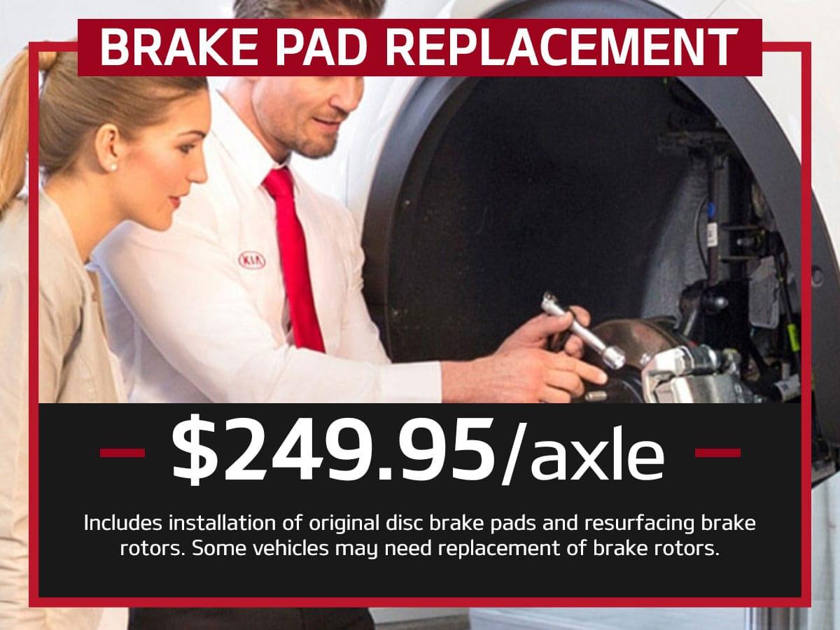 Kia Brake Pad Replacement Service Suntrup Kia