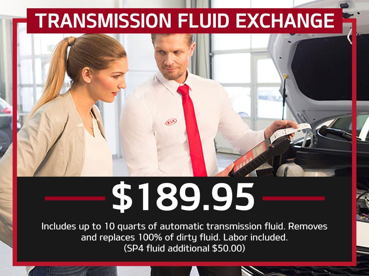 Suntrup Kia Transmission Fluid Exchange Service Special Coupon St. Louis, MO