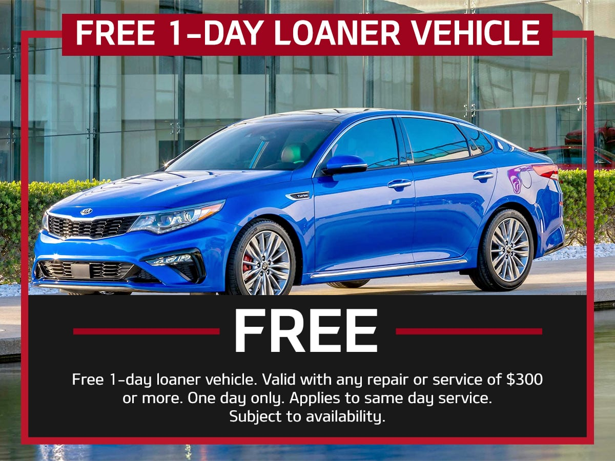 Suntrup Kia Loaner Vehicle Special Coupon St. Louis, MO