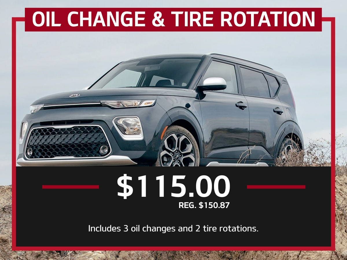Suntrup Kia Oil Change & Tire Rotation Service Special Coupon St. Louis, MO