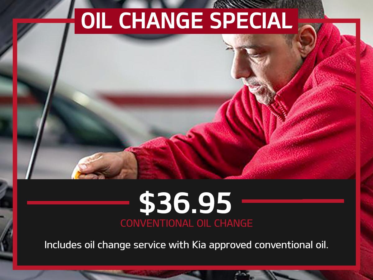 Suntrup Kia Conventional Oil Change Service Special Coupon St. Louis, MO