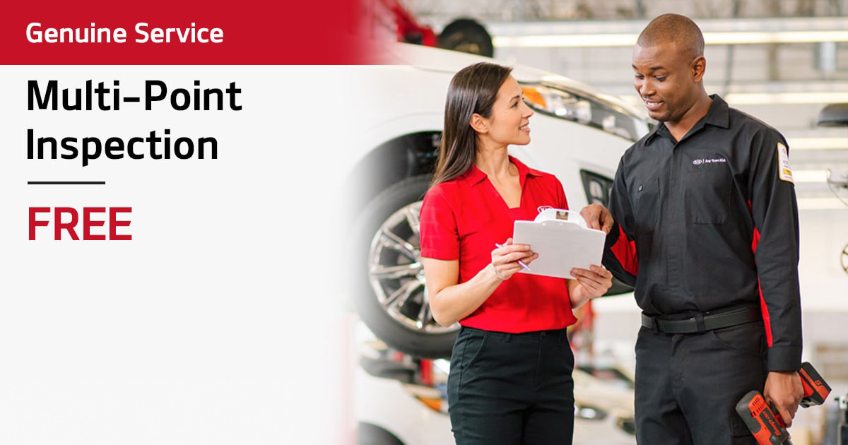 Kia Multi-Point Inspection Service Special Coupon