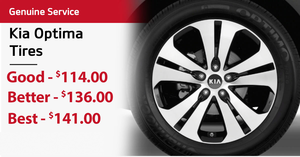 Kia Optima Tire Special