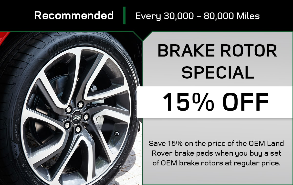 Land Rover Brake Rotor Special Special Coupon
