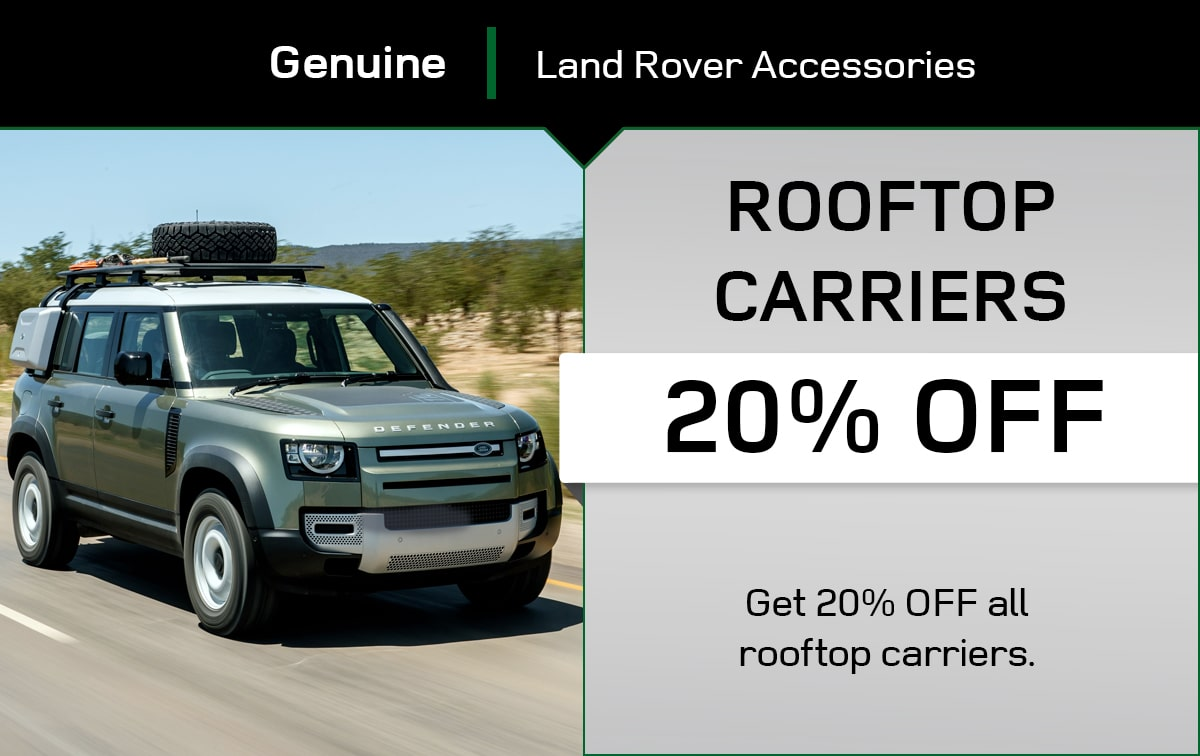 Land Rover Rooftop Carriers Special Coupon