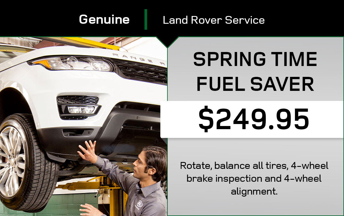 Land Rover Summer Fuel Saver Service Special Coupon