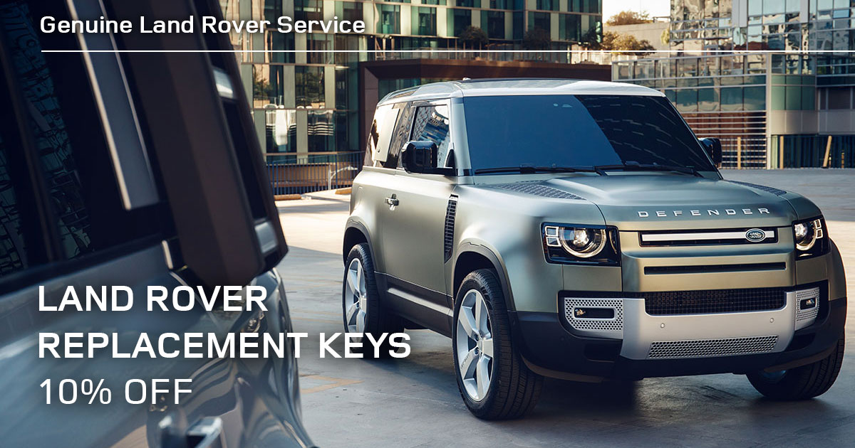 Land Rover Land Rover Replacement Keys Service Special Coupon