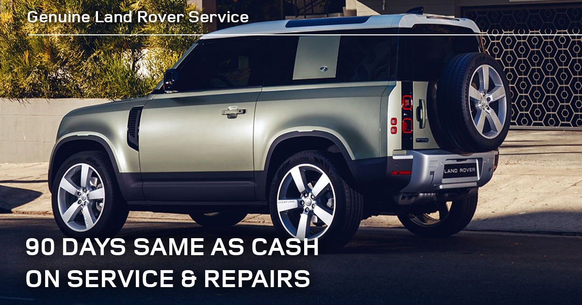 Land Rover Sunbit Financing Service Special Coupon