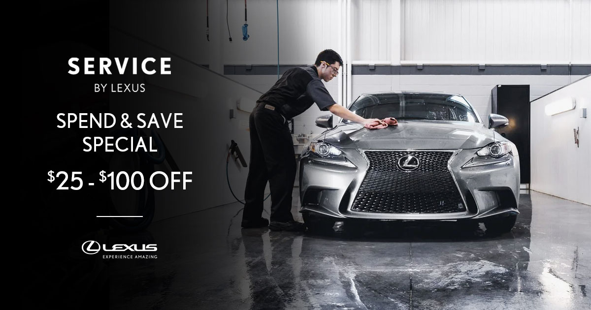 Lexus Spend & Save Service Special Coupon