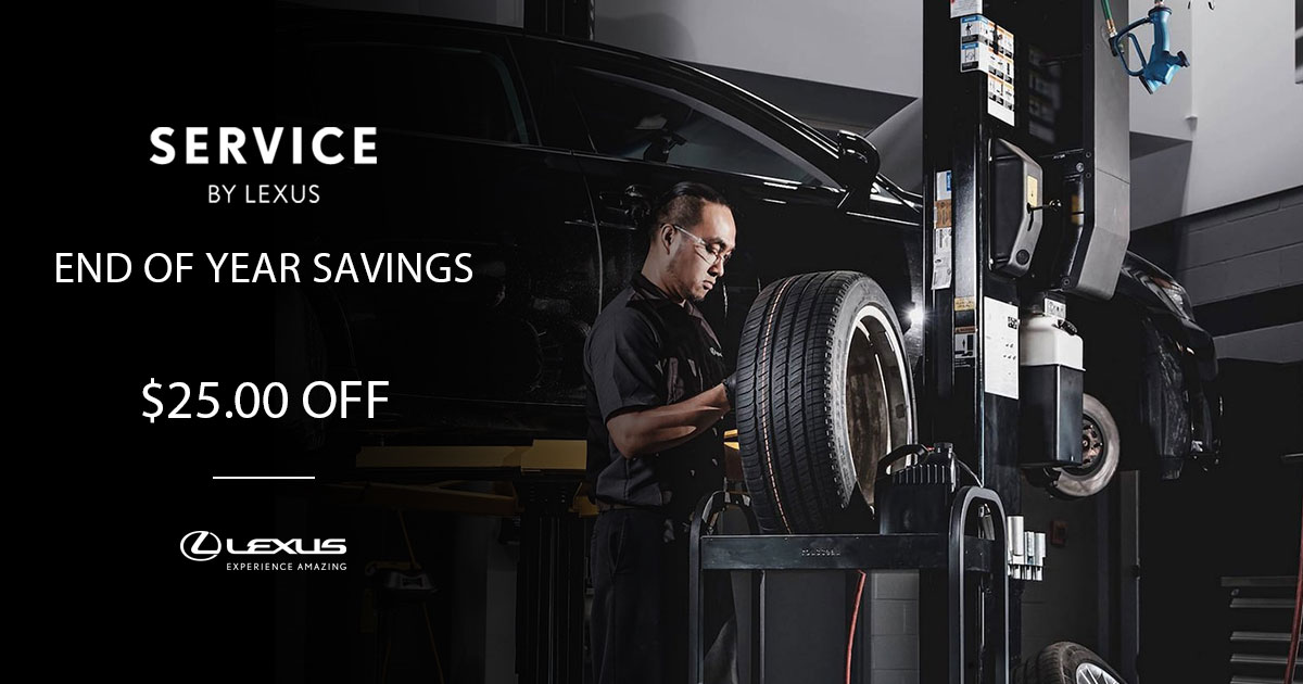 Lexus End Of The Year Savings Special Coupon
