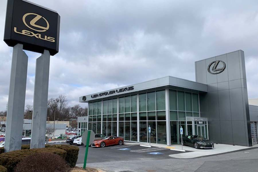 Len Stoler Lexus Service Lane