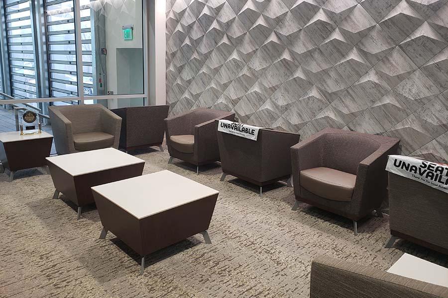Len Stoler Lexus Waiting Room
