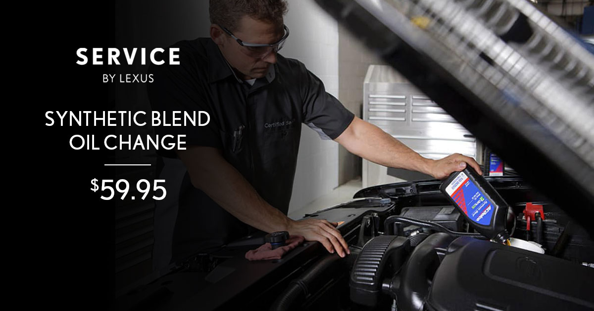 Lexus Synthetic Blend Service Special Coupon