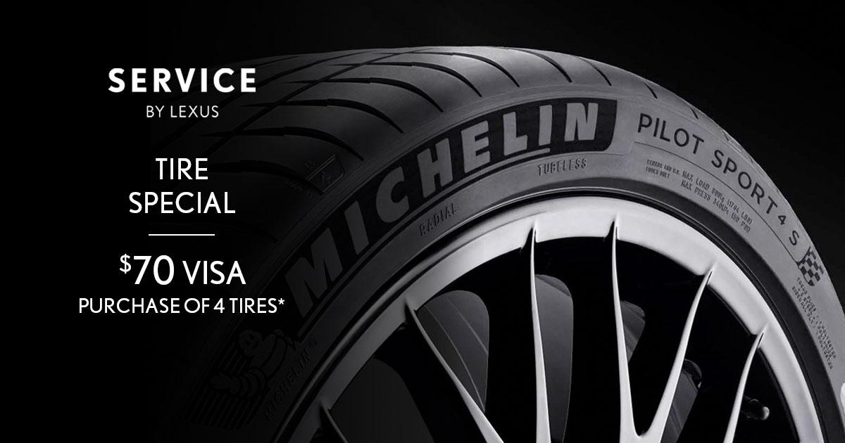 Lexus Tire Special Coupon