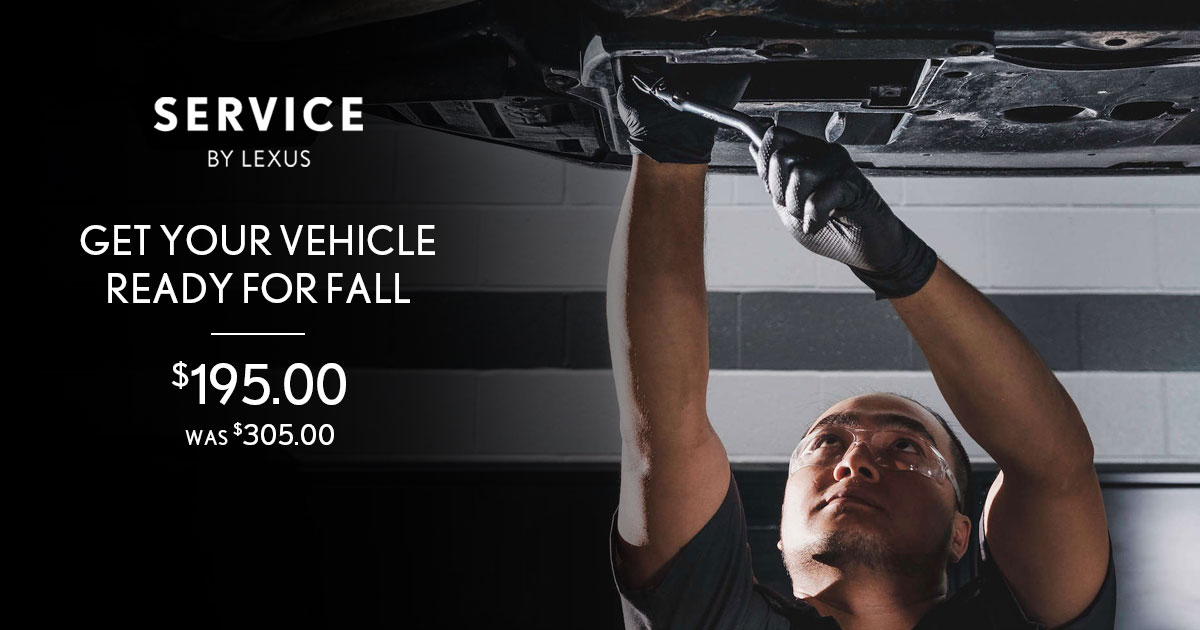 Lexus Summertime Refresh Service Special Coupon