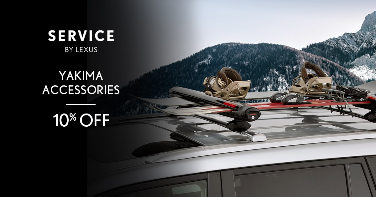 Lexus Yakima Accessories Service Special Coupon