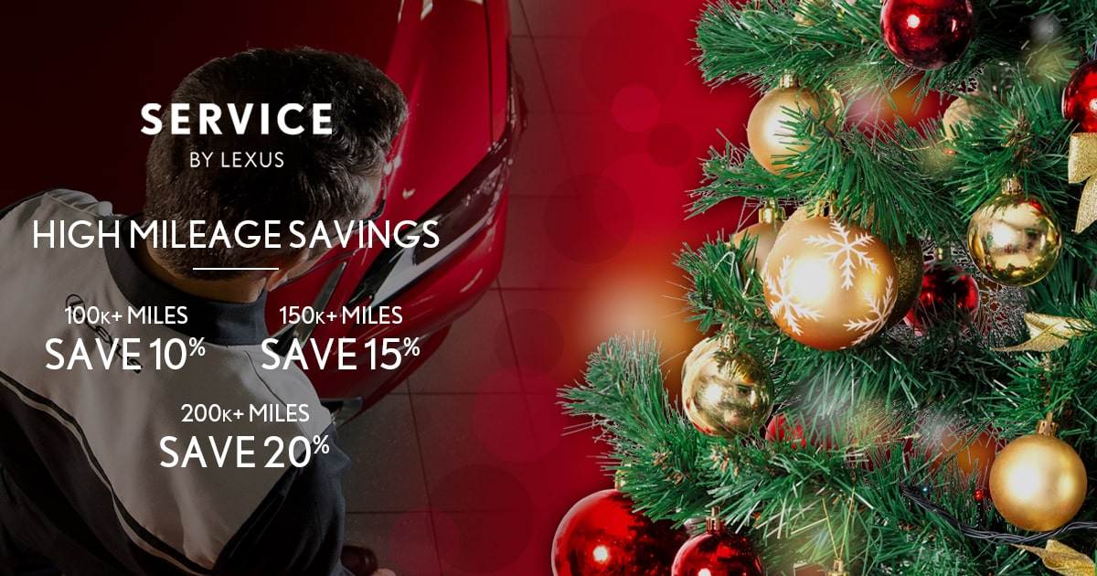 Lexus High Mileage Savings Service Special Coupon