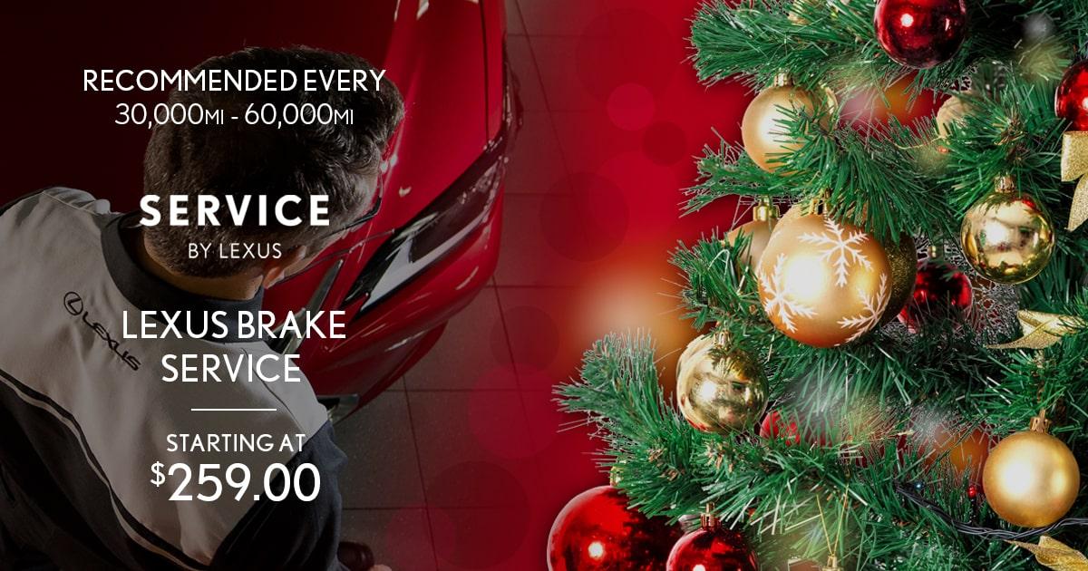 Lexus Brake Service Special Coupon