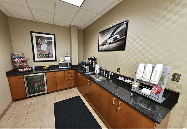 Lexus of Towson Coffee & Snacks