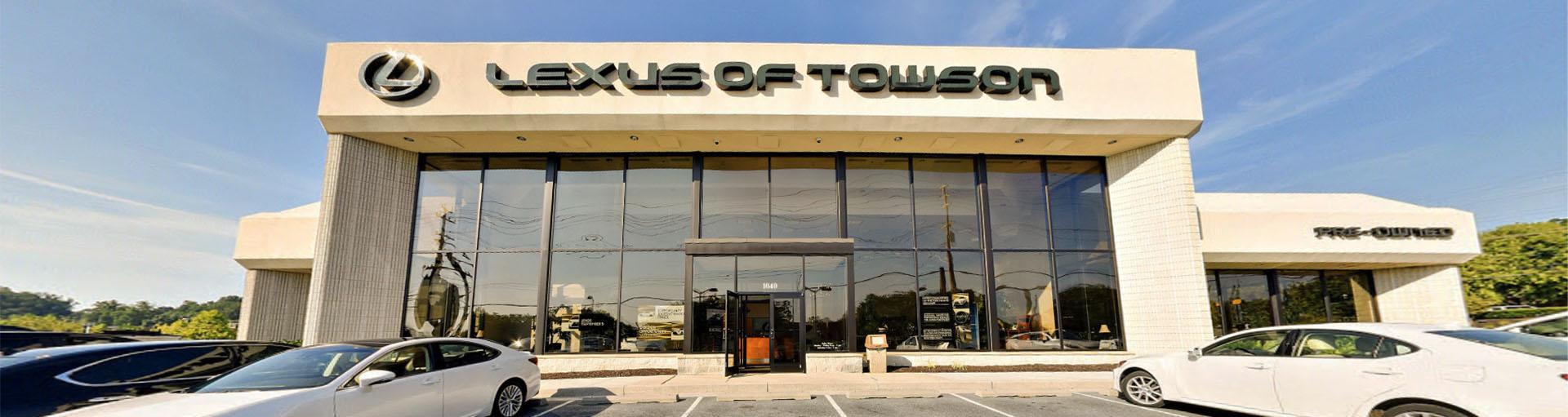 Lexus of Towson Tire Department