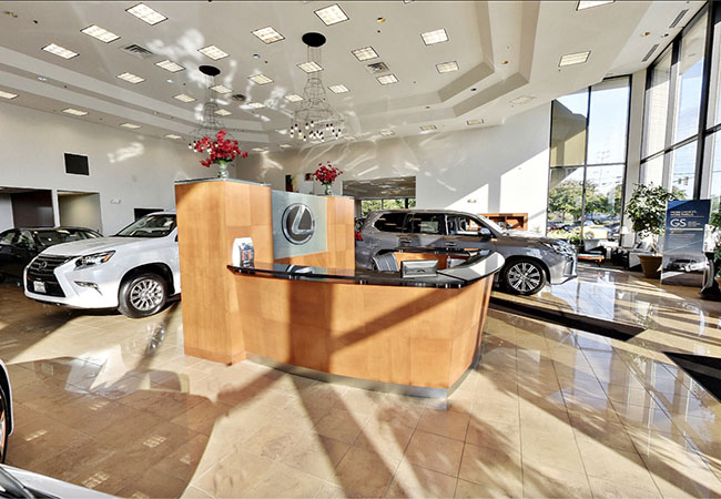 Lexus of Towson Showroom