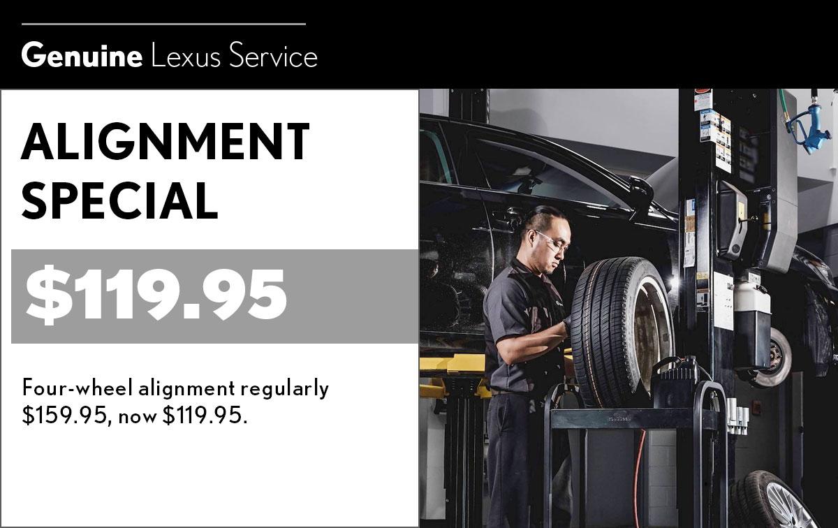 Lexus Pothole Special Coupon
