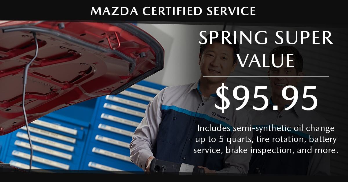 Mazda Spring Super Value Service Special Coupon