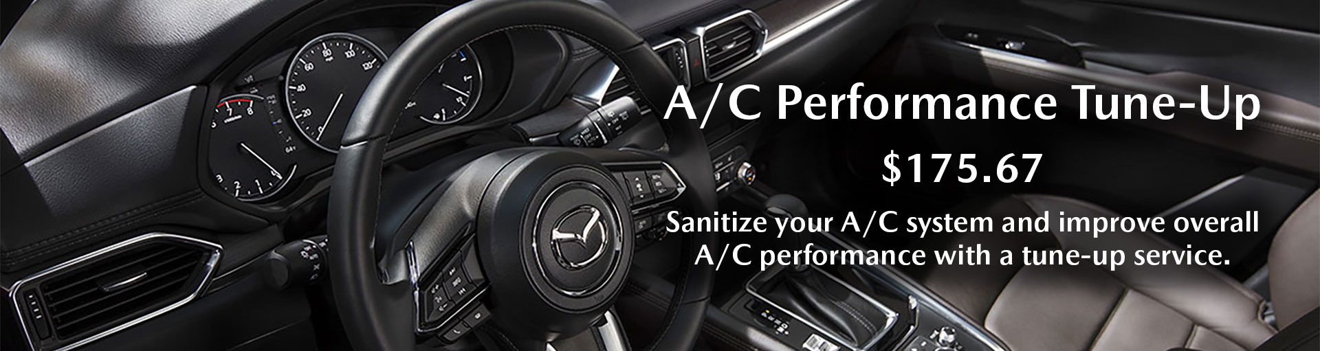 Mazda A/C Tune-Up Service Special Coupon
