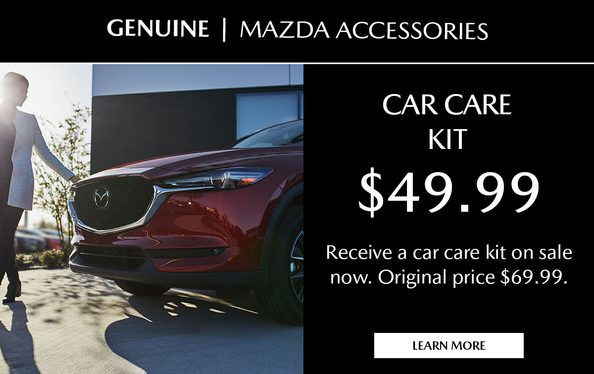 Mazda Car Care Kit Special Coupon