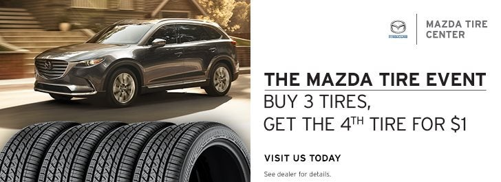 Mazda Tire Sales Event