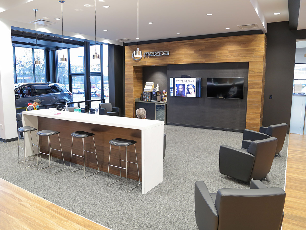 Germain Mazda of Columbus Interior